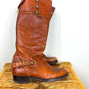 Steve Madden Ollie Leather Riding Boots Sz 7